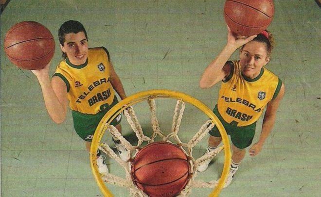 Com o protagonismo da dupla Hortência e Magic Paula, a Seleção Brasileira feminina disputou, em 1992, a primeira Olimpíada de sua história (Divulgação)