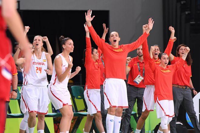 Com grande vantagem no placar desde o primeiro período, Espanha soltou o grito da vitória e da classificação para Final da Olimpíada do Rio (Divulgação/FIBA)