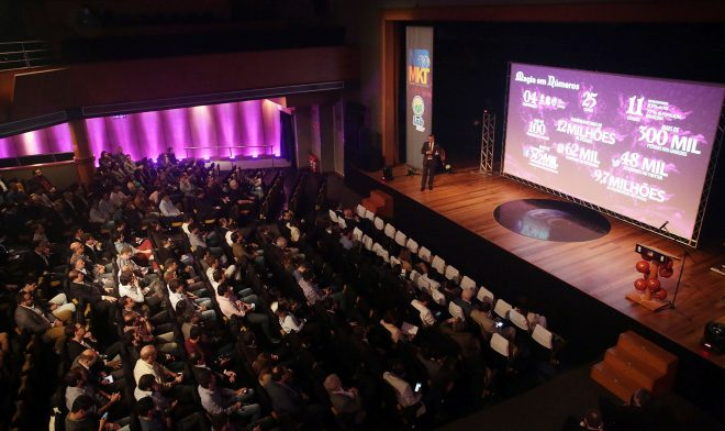 O crescimento do basquete brasileiro foi mostrado para mais de de 400 pessoas que estiveram presente no NBB Marketing Summit (João Neto/LNB)